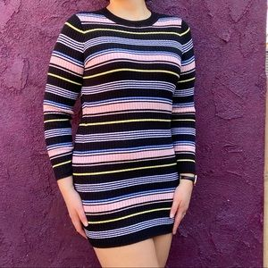 Striped Long Sleeve H&M Dress